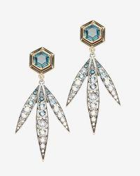 Lulu Frost - Blue Nicandra Drop Earrings - Lyst
