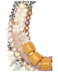 Lizzie Fortunato | Orange Bohemian Glamour Necklace | Lyst
