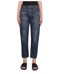 FRAME - Blue Le Original Denim Jeans - Lyst