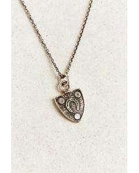 Pyrrha Metallic Luck Talisman Necklace