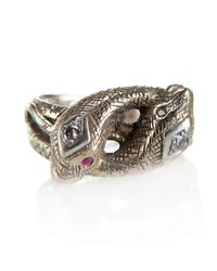 Pamela Love | Metallic Snake Ring | Lyst