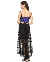 Free People | Black Marla Dreams Dress | Lyst