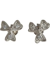 Cathy Waterman - Metallic Wildflower Studs - Lyst