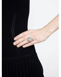 Kimberly Mcdonald | Metallic Opal And Diamond Boulder Ring | Lyst