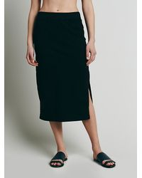 Free People - Black Fp Beach Womens About Time Skirt - Lyst