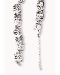 Forever 21 - Metallic Elephant Parade Necklace - Lyst