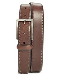 Trafalgar | Brown 'austin' Leather Belt for Men | Lyst