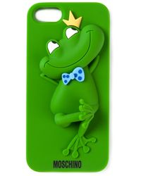 Moschino Green Frog Iphone 5 Cover