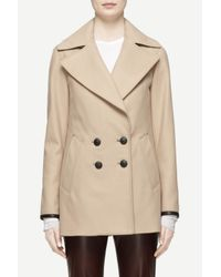 Rag & Bone Brown Token Peacoat