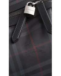 Burberry Gray The Large Alchester In Horseferry Check for men