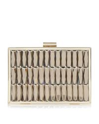 Dune | Metallic Bowden Gem Embellished Clutch Bag | Lyst