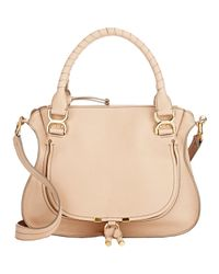 Chloé - Natural Marcie Medium Satchel - Lyst