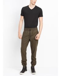 Vince | Green Traveler Wool Blend Jogger for Men | Lyst