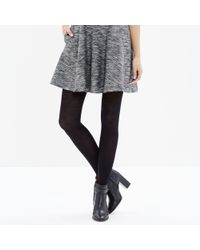 Madewell - Black Ribbed 1937 Tights - Lyst