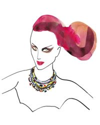 Tom Binns | Multicolor De Stijl Bib Necklace | Lyst