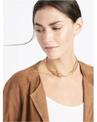 BaubleBar - Metallic Sailor's Knot Collar - Lyst