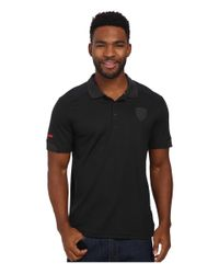 PUMA | Black Ferrari® Polo for Men | Lyst