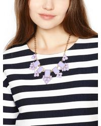 kate spade new york - White Daylight Jewels Necklace - Lyst
