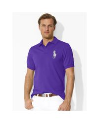 Polo Ralph Lauren | Purple Classic-fit Big Pony Polo for Men | Lyst