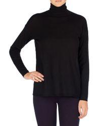 J Brand Black Clinton Sweater