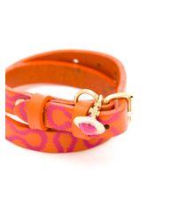 Vivienne Westwood | Orange 'Squiggle' Bracelet | Lyst