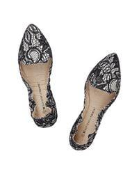 Butterfly Twists - White Natalie Ballerina Shoe - Lyst