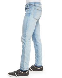 J Brand Blue Tyler Otto Slim-fit Jeans