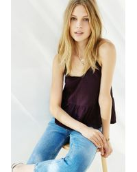 Truly Madly Deeply - Purple Babydoll Cami - Lyst