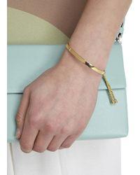 Monica Vinader | Metallic Fiji Pavé Toggle Chain Bracelet | Lyst