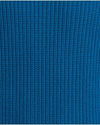 Zara | Blue Polo Neck Sweater for Men | Lyst