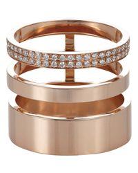 Repossi | Pink Berbere Module Cage Ring | Lyst