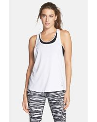 Under Armour | White 'alpha' Mesh Tank | Lyst