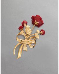 Dolce & Gabbana - Red Hairpin - Lyst