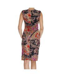 Etro - Brown Women's Dress - Lyst