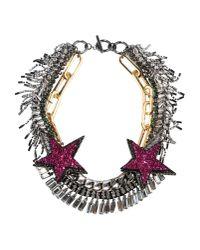 Venna Metallic Necklace