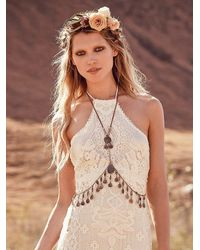 Free People - Metallic Womens Fatima Body Chain - Lyst