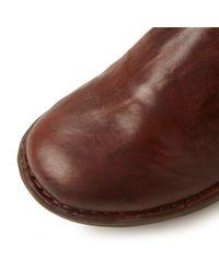 Dune | Brown Roland Zip Detail Stretch Boots | Lyst