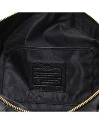 COACH | Black Prairie Satchel Bag In Leather | Lyst