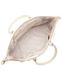 Modalu Natural Burford Zip Top Tote Bag