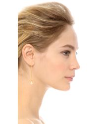 Lizzie Fortunato - Metallic Eclipse Earrings - Gold/pearl - Lyst