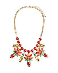 H&M | Red Sparkly Stone Necklace | Lyst