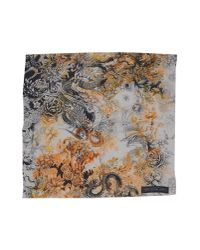 The Textile Rebels Gray Square Scarf