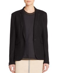 Rag & Bone | Black Club Wool Blazer | Lyst