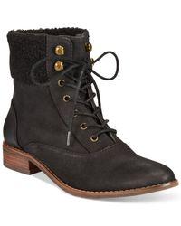 BC Footwear | Black Bc Hood Faux Fur Booties | Lyst
