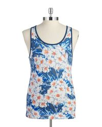 Original Penguin - Multicolor Floral Cotton Tank for Men - Lyst