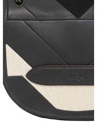 COACH Black Shadow Leather Crossbody Bag