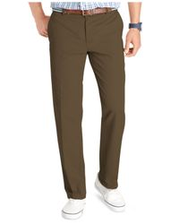 Izod - Green Pants, Saltwater Slim Fit Chinos for Men - Lyst