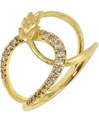 Annoushka - Metallic Vasilisa 18ct Yellow-gold And Diamond Ring - Lyst