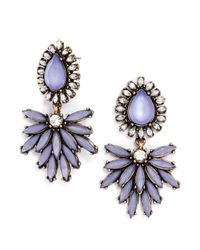 BaubleBar - Purple Tiffany Tear Drops - Lyst