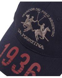 La Martina | Blue Heritage Logo Cap for Men | Lyst